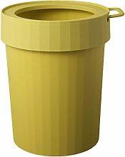LIUXING-Home Plastic Trash Can Kitchen Trash Can