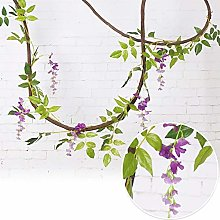 LIUYU 2m Artifical Decoration Vine Artificial Ivy
