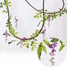 LIUYU 2m Artifical Decoration Vine Artificial Ivy
