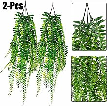 LIUYU 2PCS Artificial Hanging Plant Simulated