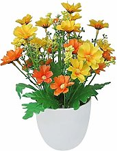 LIUYU Artificial Flowers Bright Color Lifelike
