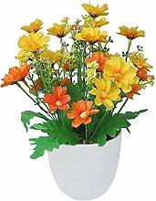 LIUYU Artificial Flowers Bright Color Lifelike