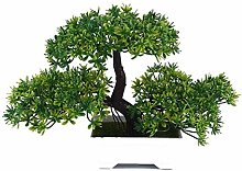 LIUYU Artificial Plant Bonsai Tree for Home Office