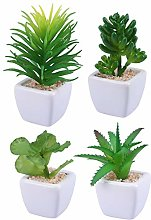 LIUYU Decorative Faux Succulent Artificial
