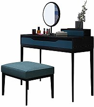 Liuzecai Makeup Table Dark Green Dressing Table
