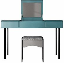 Liuzecai Makeup Table Green Dressing Table With