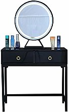 Liuzecai Makeup Table White Dressing Table With