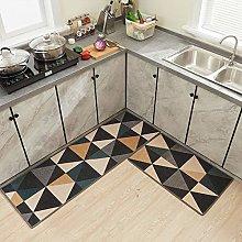 Liuzhou Kitchen Rug Set Absorbent Kitchen Mats Non