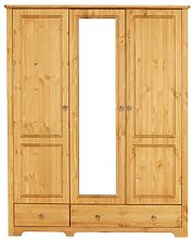 Livadia 3 Door Wardrobe August Grove