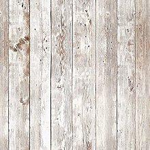 Livelynine 45CMx7M Wood Effect Sticky Back Plastic