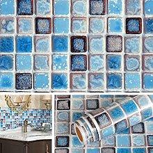 Livelynine Kitchen Wallpapers Blue Wallpaper for