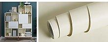 Livelynine Plain Cream Wallpaper for Bedroom