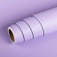 Livelynine Plain Purple Wallpaper for Bedroom