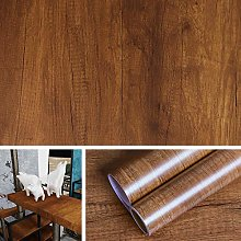 Livelynine Wood Effect Wallpaper Self Adhesive