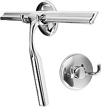 Livememory Stainless Steel Shower Window Glass