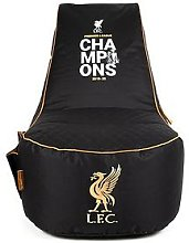 Liverpool FC Champions Gaming Beanbag Chair, Black