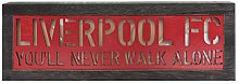Liverpool FC Light Up Wooden Sign LFC Official