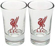 Liverpool FC Official Football Gift Shot Glass Set