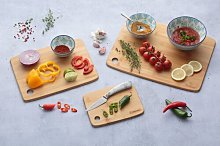 Living Bamboo Chopping Board Set Typhoon