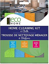 Living Eco Home Home Cleaning Kit Microfibre