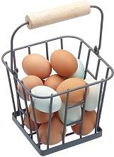 Living Nostalgia Metal Basket KitchenCraft