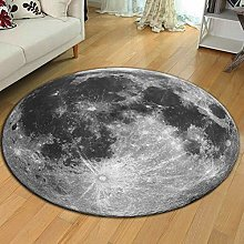 Living Room Area Rugs 120cm Round Silky Fluffy