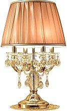 Living Room Bedroom Table Lamp Crystal Table Lamp