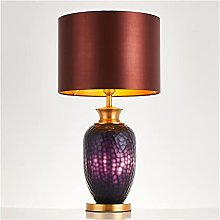 Living Room Bedroom Table Lamp Table Lamp Glass