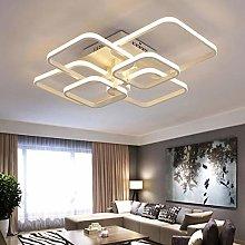 Living Room Decor Square LED Ceiling Light Bedroom