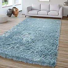 Living Room Deep-Pile Rug Shaggy Soft And Modern