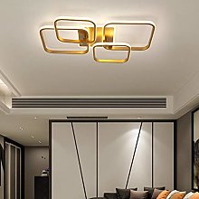 Living Room Dimmable Gold Ceiling Lights LED