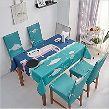 Living Room Dining Table Nordic Waterproof and