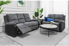 Living room Jumbo Cord Fabric Recliner Armchair