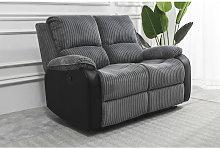 Living room Jumbo Cord Fabric Recliner Lounge 2