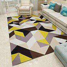 Living Room Non Slip Area Rugs,Modern Geometric