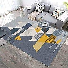 Living Room Non Slip Area Rugs,Modern Minimalist