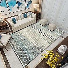 Living Room Rug,Modern Gradients Contour Cut