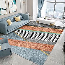 Living Room Rug,Modern Nordic Fashion Geometric