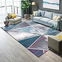 Living Room Rug,Modern Nordic Geometric Line