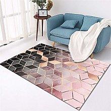 Living Room Rug Three-dimensional geometric