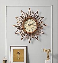Living Room Wall Clock Fashion Creativity Metal