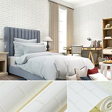 Livingandhome - 10M 3D Modern Home Brick Effect