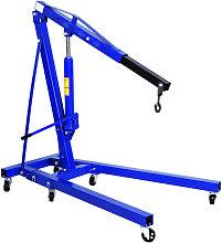 Livingandhome - 1T Hydraulic Workshop Crane Hoist