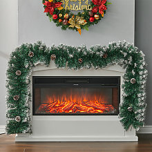 Livingandhome - 270CM Christmas Garland