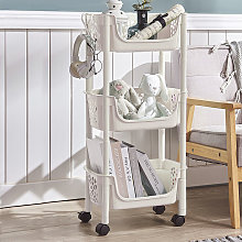 Livingandhome - 3 Tier Plastic Shower Shelf