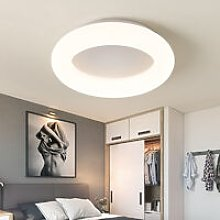 Livingandhome - 47CM Round LED Ceiling Light Wire