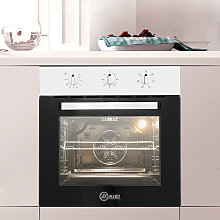 Livingandhome - 60 CM Built-in Electric Oven Glass