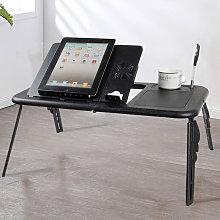 Livingandhome - Adjustable Portable Folding Laptop