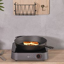 Livingandhome - Cast Iron Non-stick Frying Pan