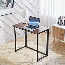 Livingandhome - Foldable Computer Desk Home Study